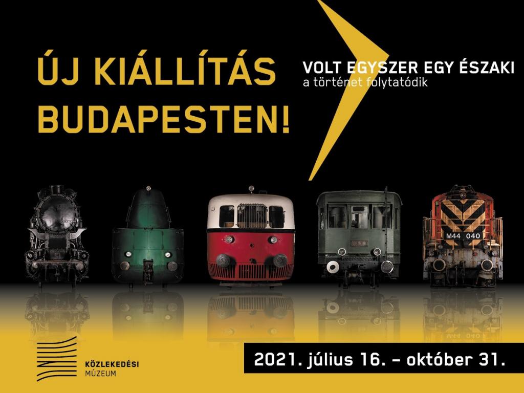 Közlekedési Múzeum: újranyit ügyfelünk