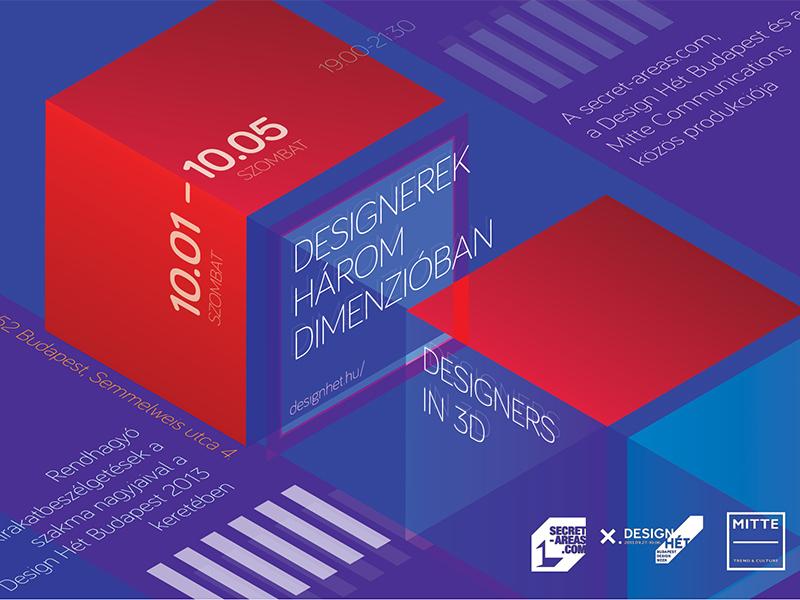 Designerek három dimenzióban – szakmai beszélgetések a Mitte Communications társszervezésében