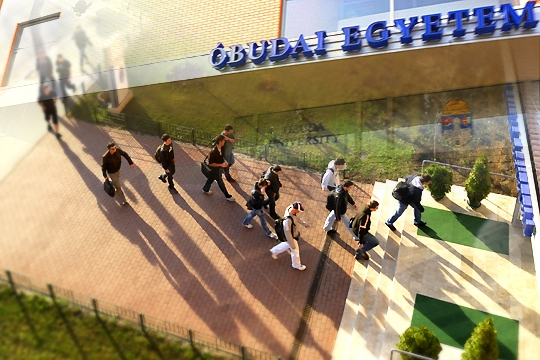 Új arculatot tervezünk az Óbudai Egyetem részére