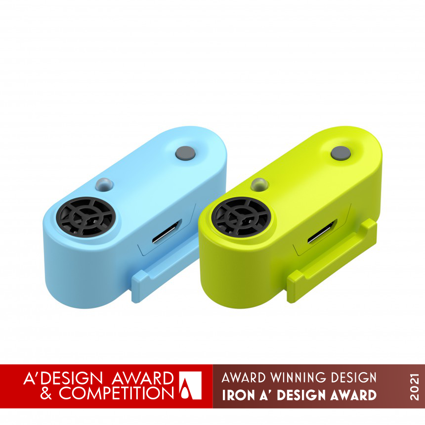 Futóknak tervezett kullancsriasztó is nyert a rangos designversenyen