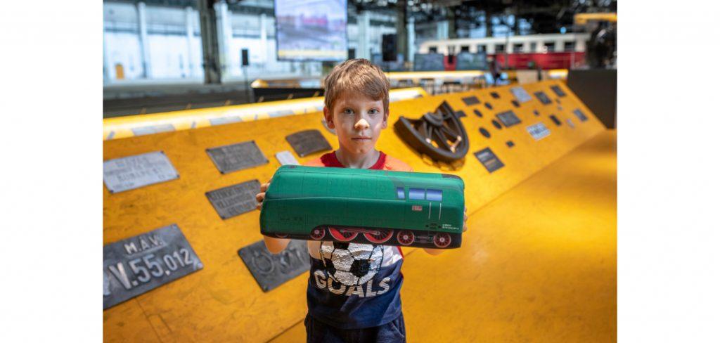 A 10 000. látogató a Volt egyszer egy Északi … kiállításon